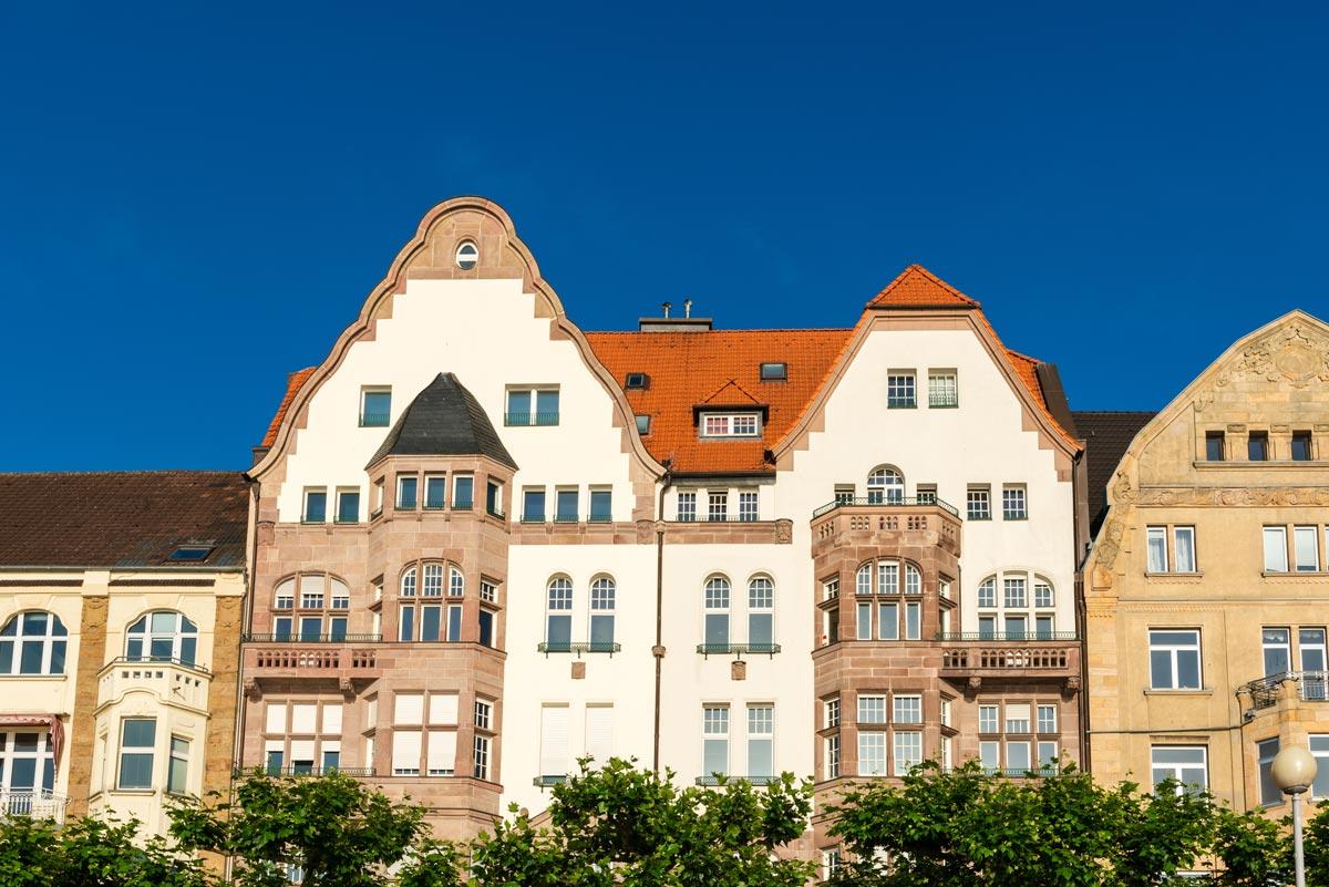 Altbauten in Mönchengladbach